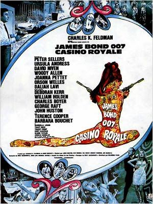 Affiche de Casino Royale, 1967