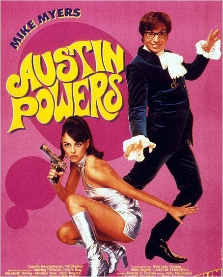 Affiche de Austin Powers, 1997