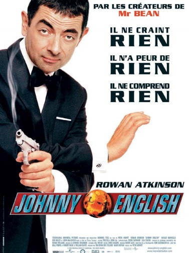 Affiche de Johnny English