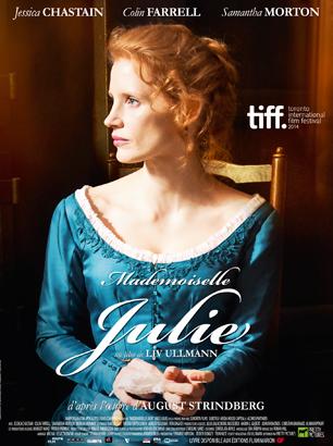 Affiche du film Mademoiselle Julie (2014)