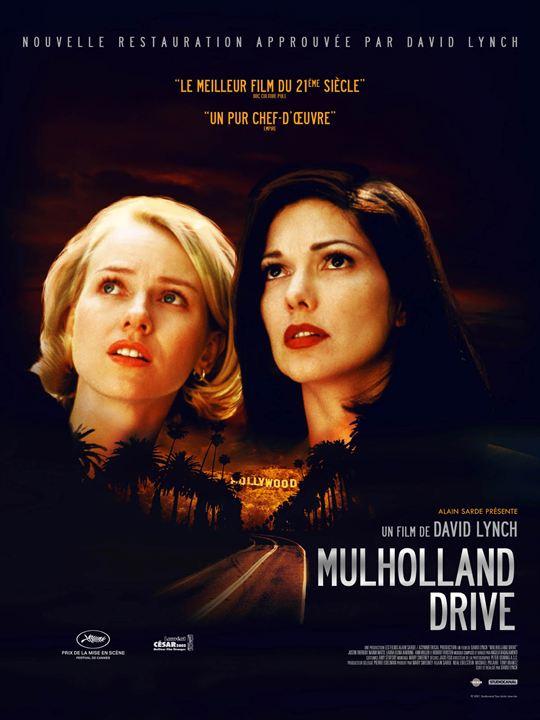 Affiche fu film Mulholand Drive
