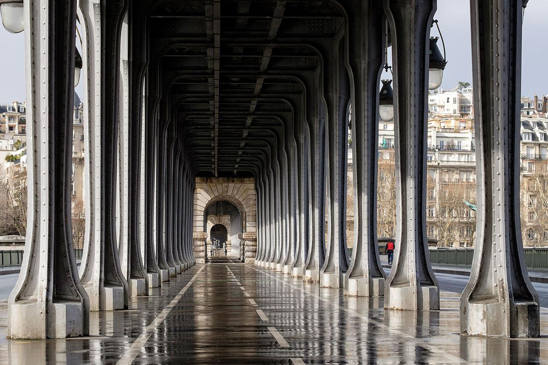 Pont Bir Hakeim - Paris