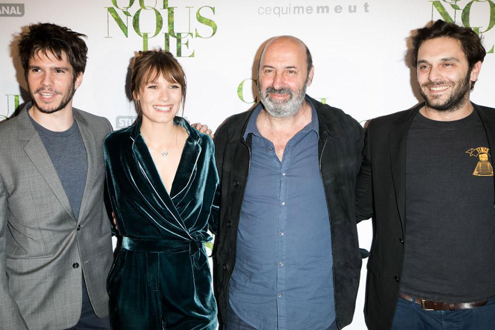 Francois Civil, Ana Girardot, Cedric Klapisch et Pio Marmai - Avant-Première de 'Ce qui Nous Lie' - 12 Juin 2017 - Paris