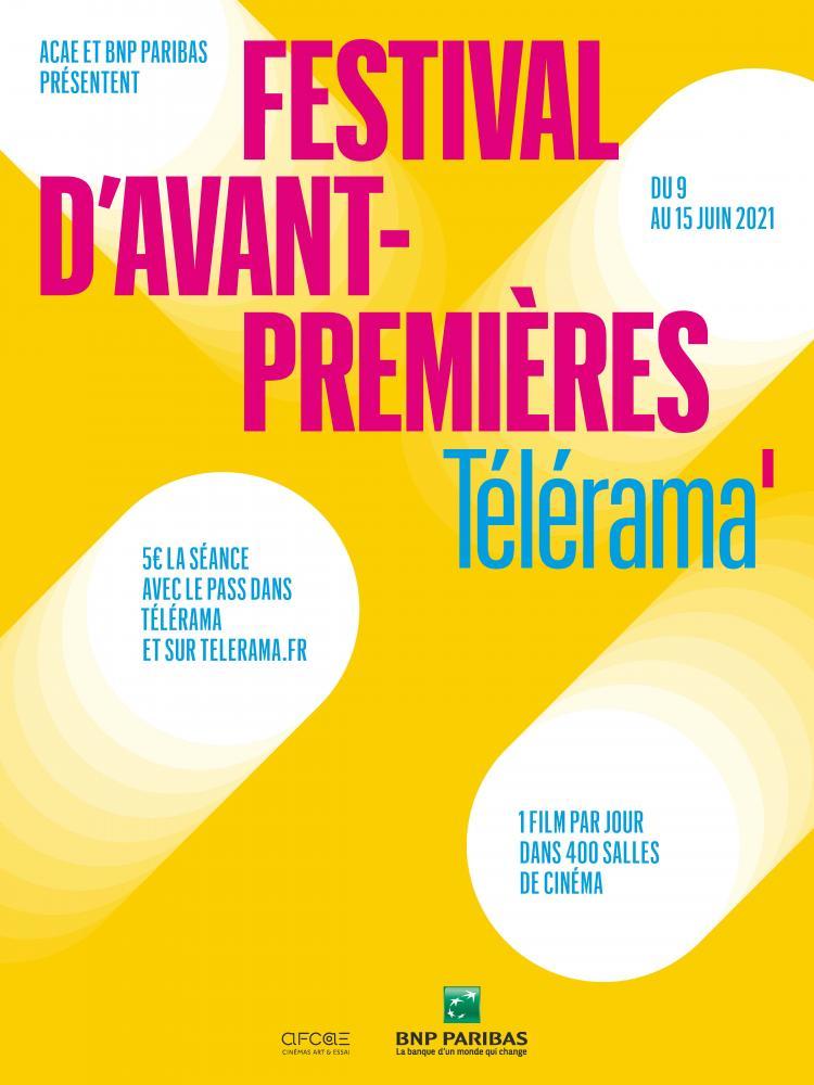 Affiche Festival Avant-premières Télérama