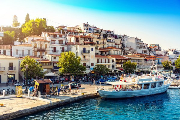 Ile grecque Skiathos