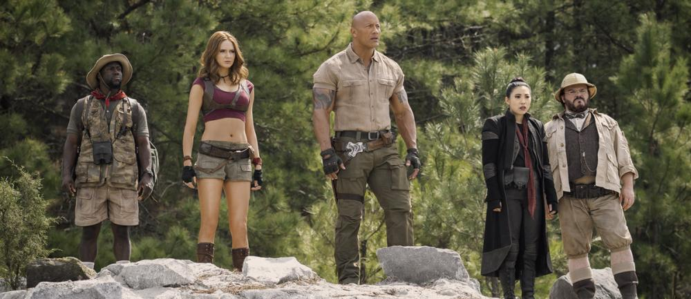 Le film Jumanji: Next Level avec Dwayne Johnson