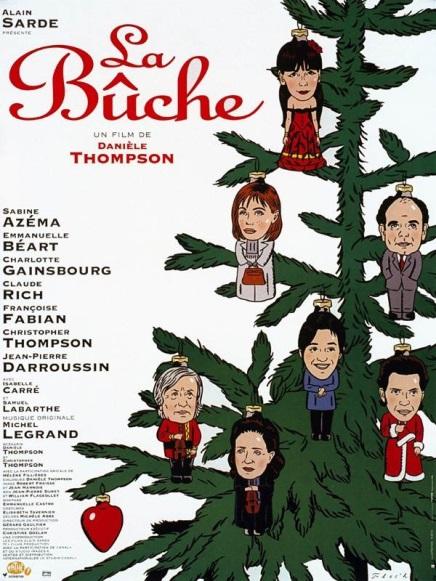 Affiche du film La Bûche