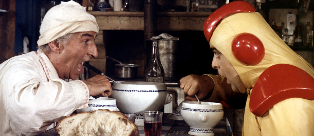 Louis de Funès dans La Soupe Aux Choux