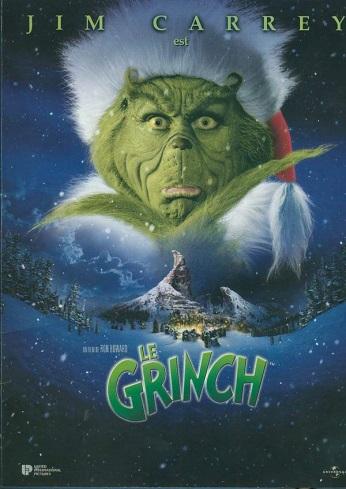 Affiche du film Le Grinch, avec Jim Carrey