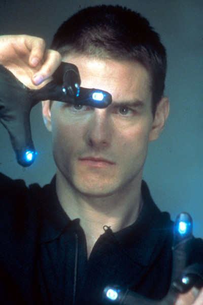 Tom Cruise dans Minority Report