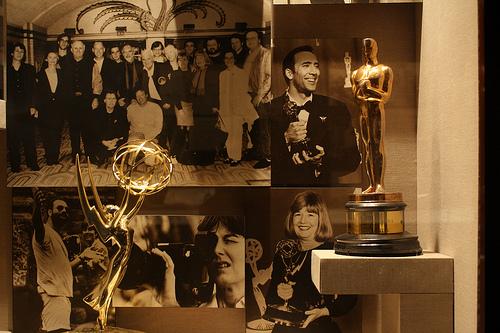 photos de la famille Coppola derrière d