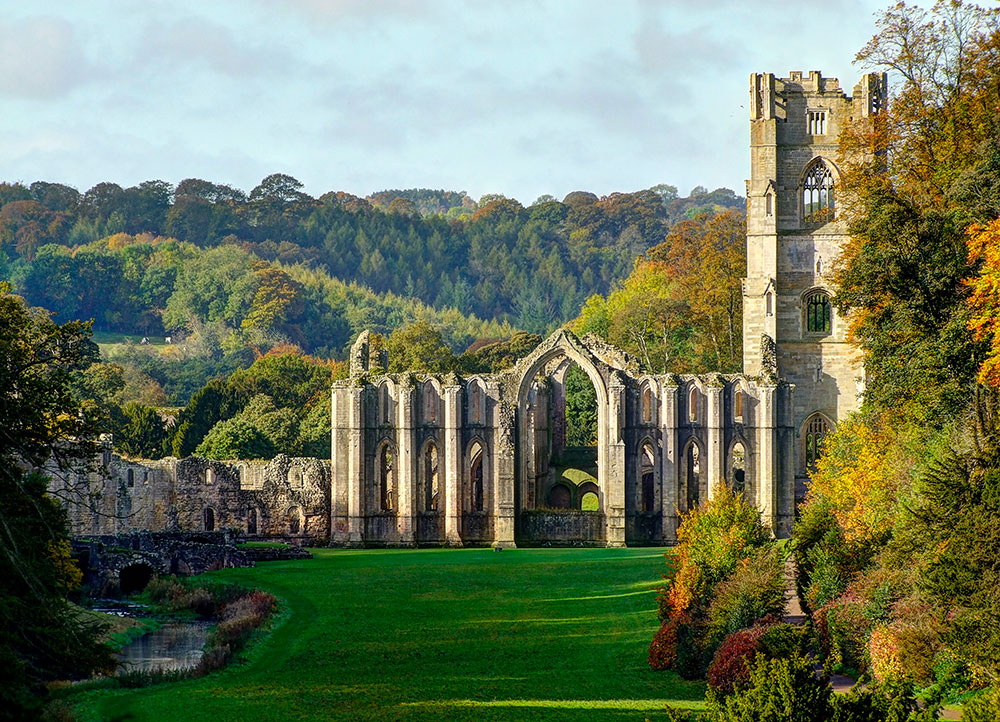 Foutains Abbey - Ripon ©Getty Images