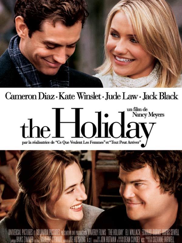 : Affiche de The Holiday, avec Cameron Diaz et Jude Law notamment