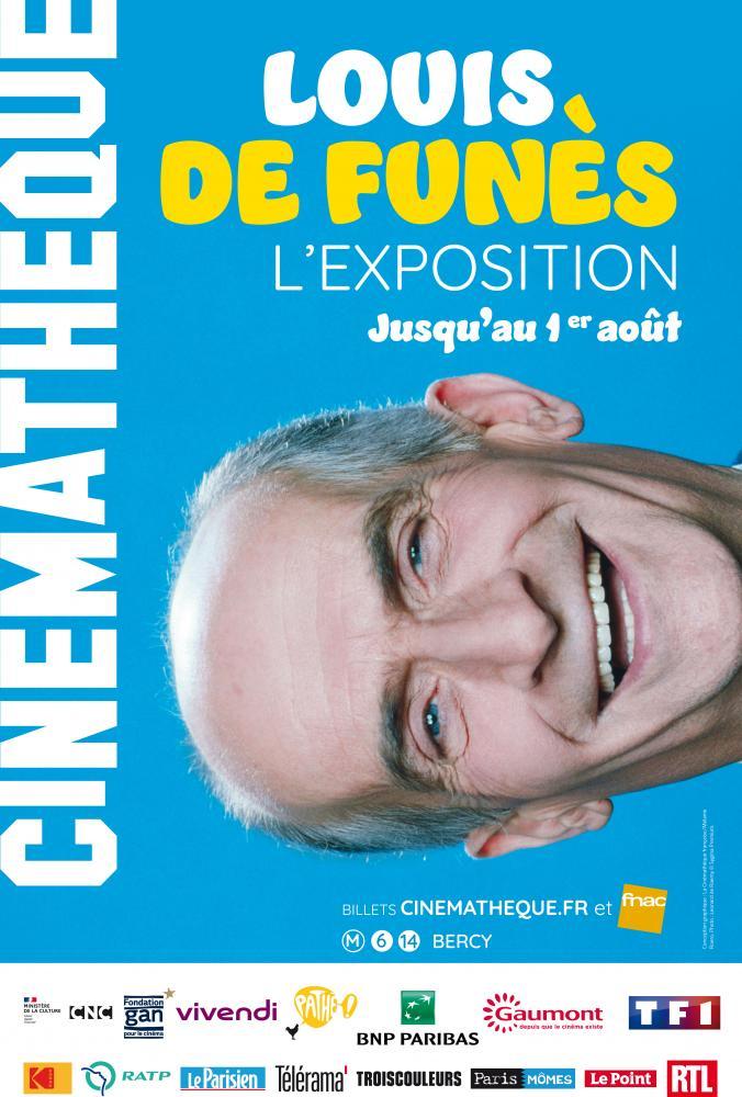 Affiche exposition Louis de Funès