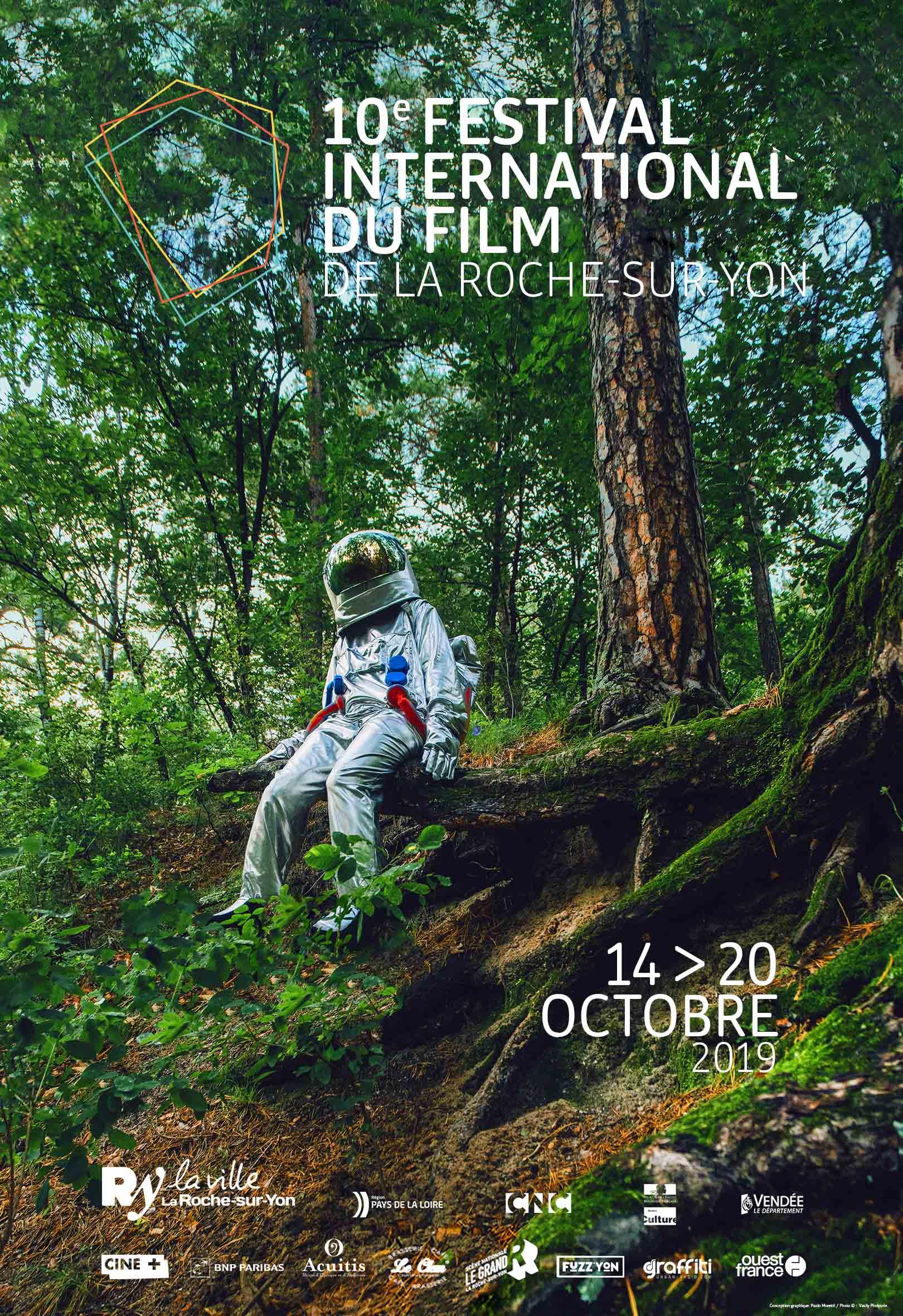 Affiche festival de la Roche-sur-Yon